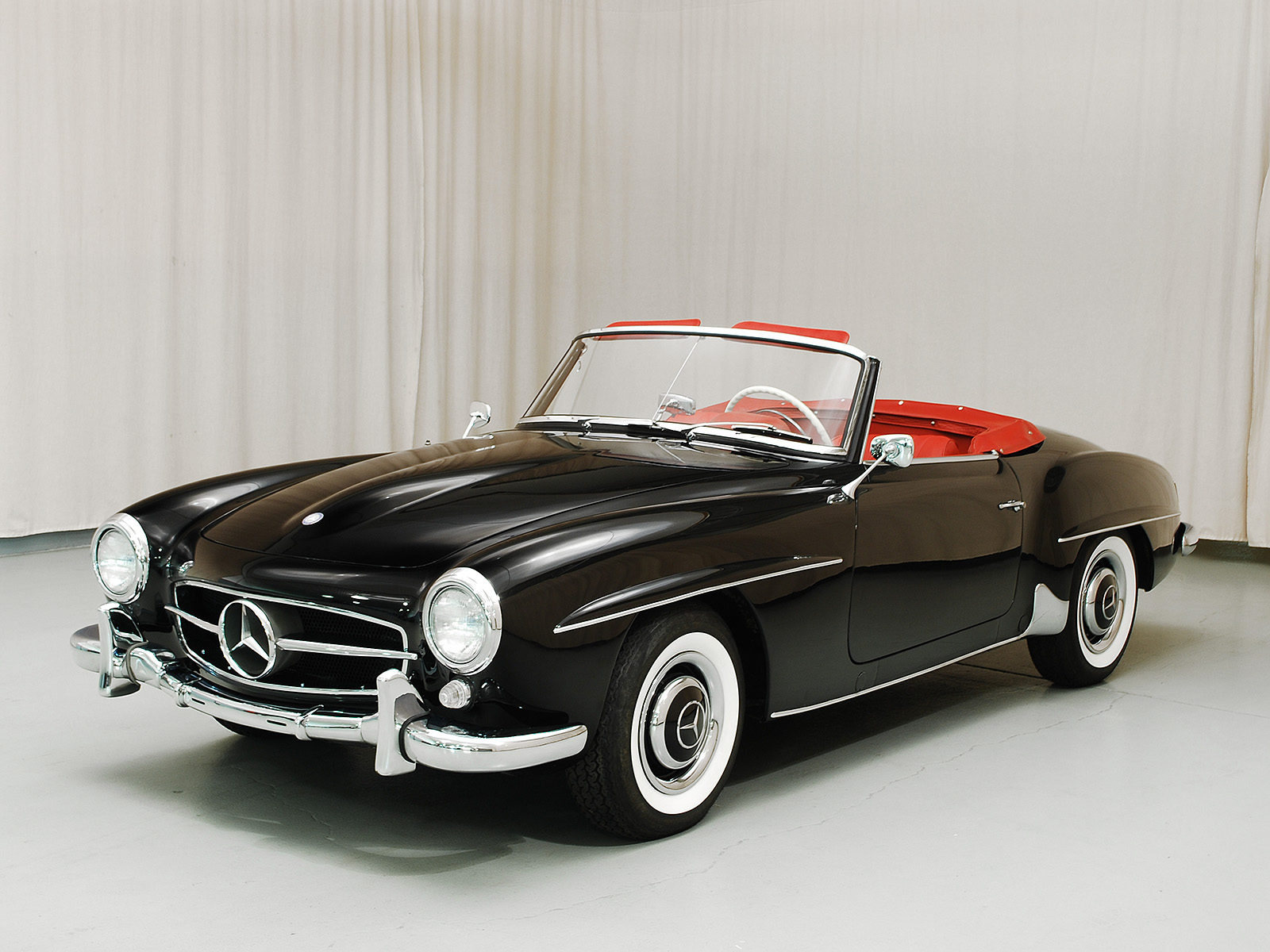1959 mercedes benz 190sl convertible coupe hyman ltd for Classic mercedes benz convertible
