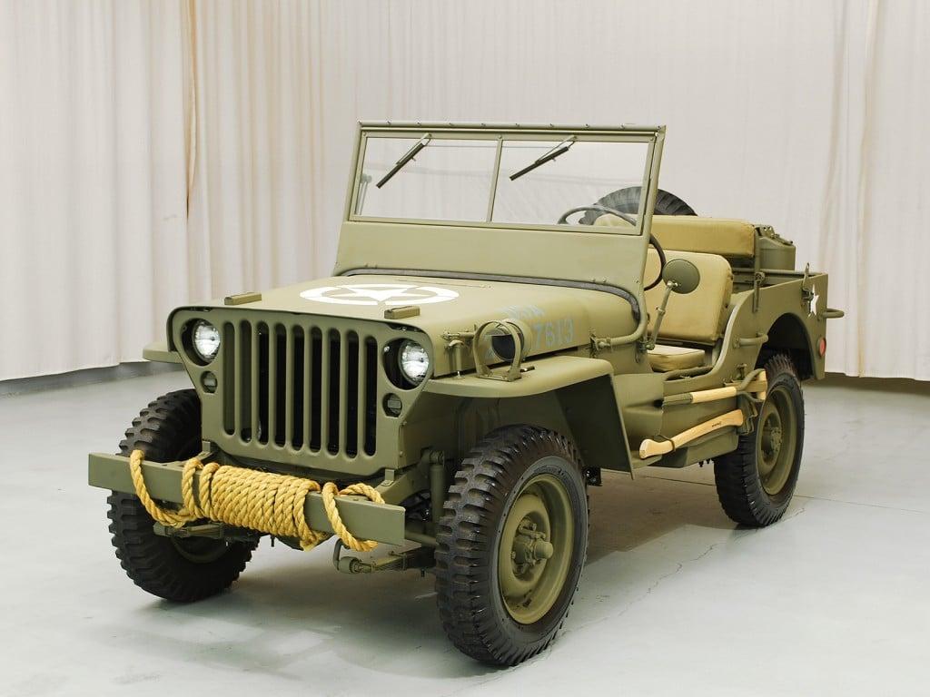 1945 ford gpw jeep hyman ltd classic cars. Black Bedroom Furniture Sets. Home Design Ideas