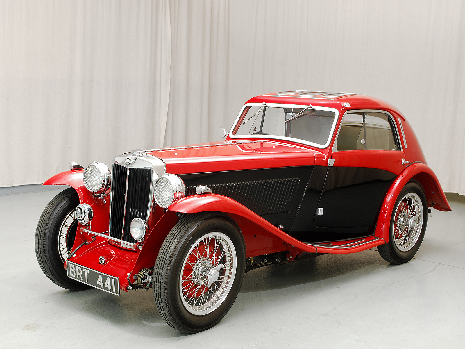 1936 MG NB Magnette Airline Coupe