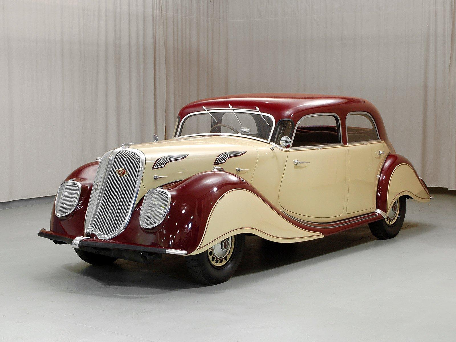 1937 Panhard X76 Dynamic Sedan