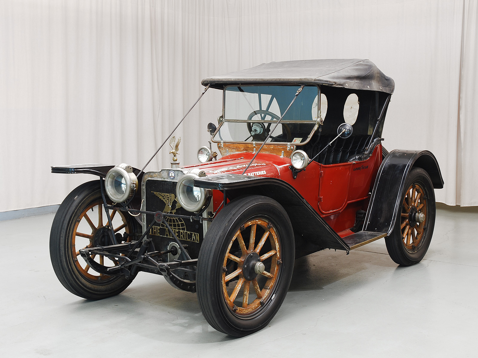 1913 American Underslung Scout Roadster