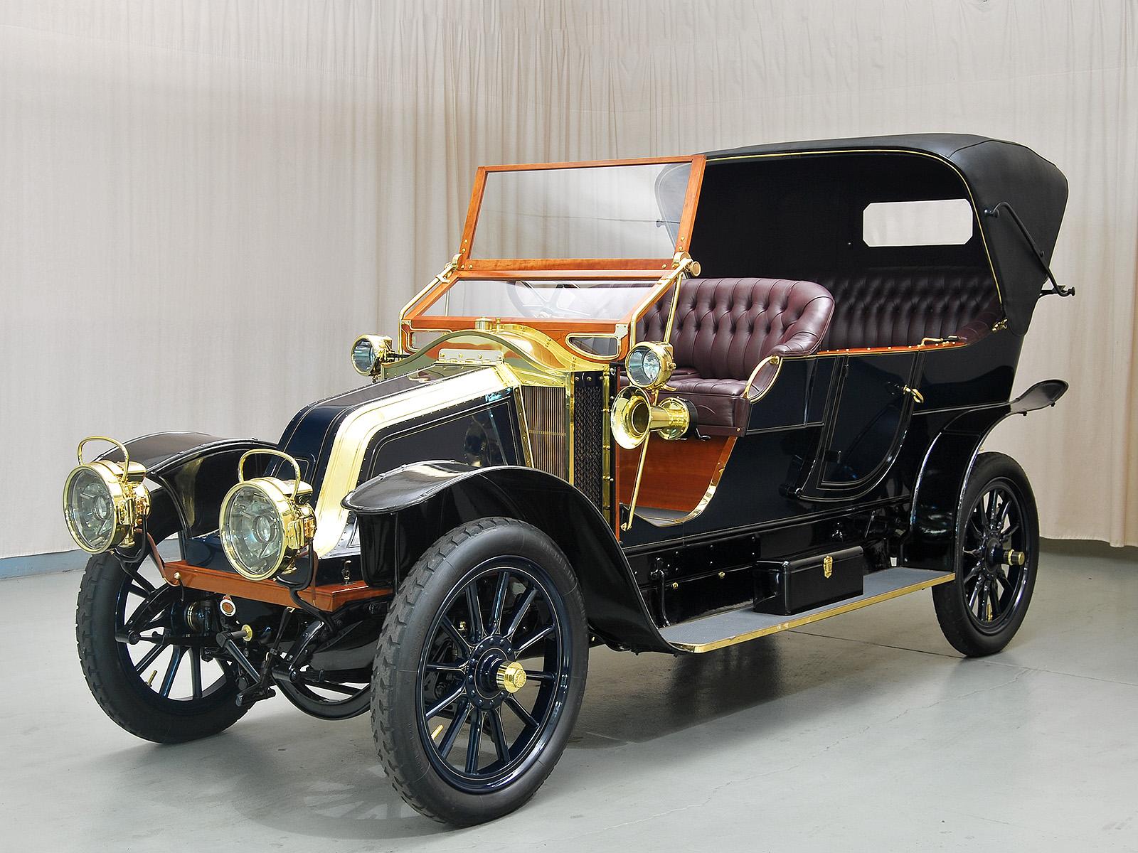 1909 Renault Model V-1 Series B Tourer   Hyman Ltd. Classic Cars