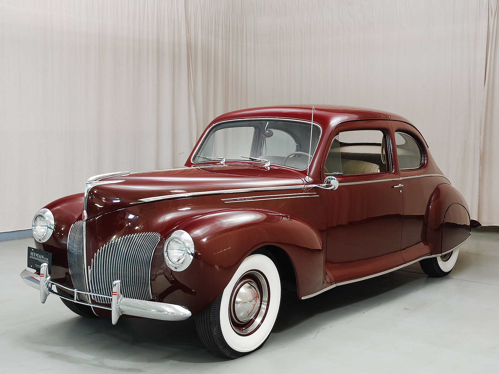 1940 Lincoln Zephyr Coupe Hyman Ltd Classic Cars