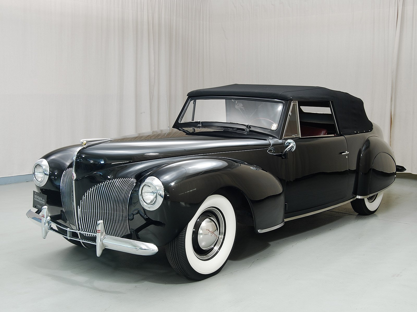 1940 lincoln continental convertible hyman ltd classic cars. Black Bedroom Furniture Sets. Home Design Ideas