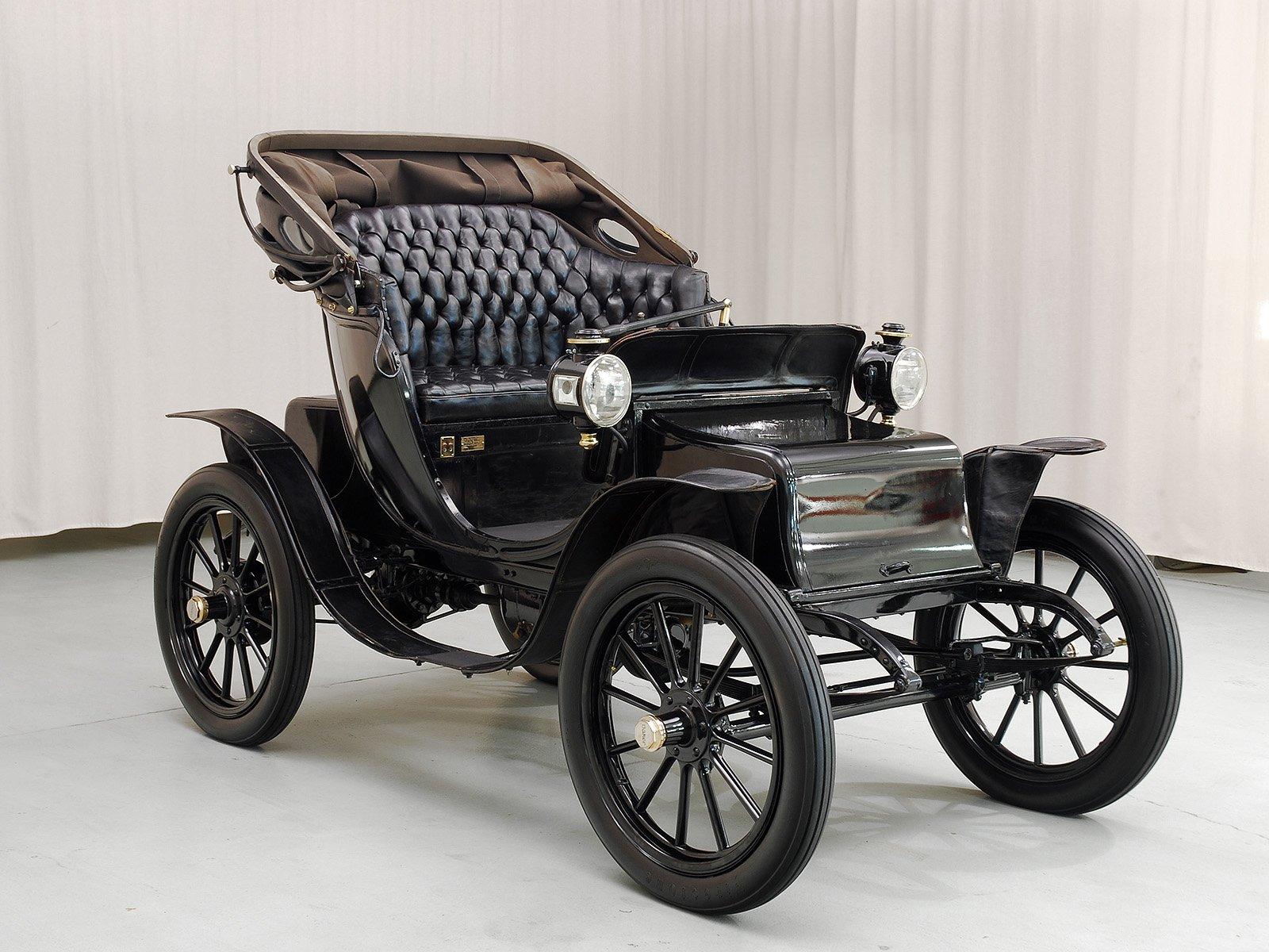 1908 Baker Electric Model V Victoria Hyman Ltd