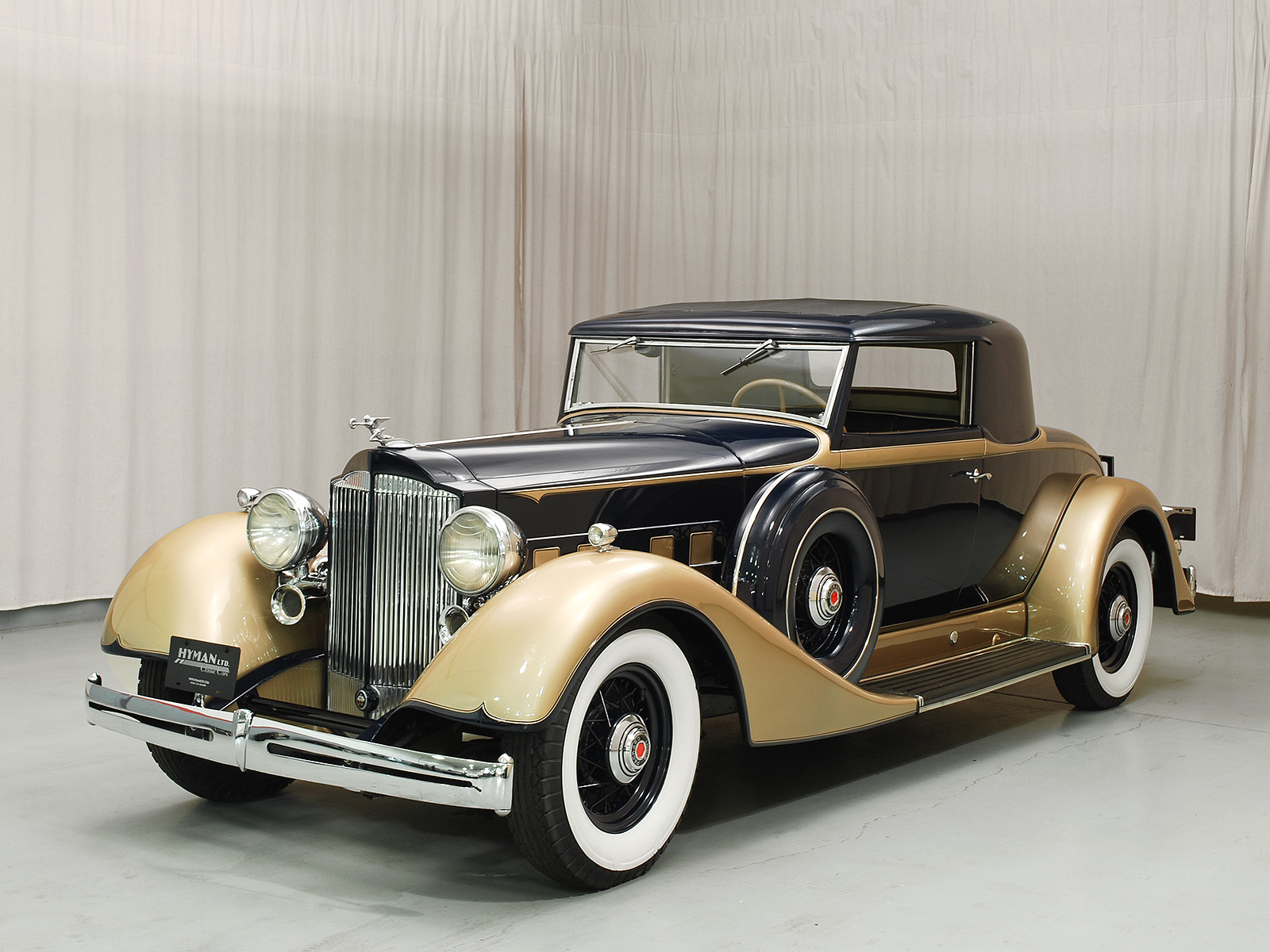 1934 Packard Eight Coupe | Hyman Ltd. Classic Cars