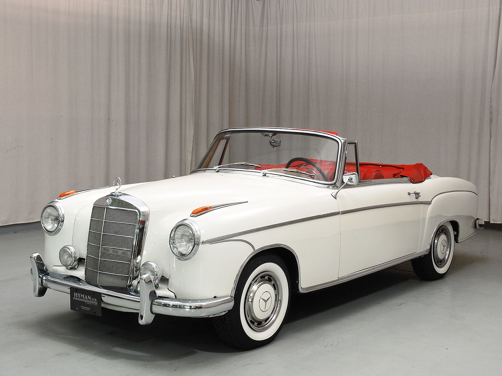 1959 mercedes benz 220s convertible for Mercedes benz 220s