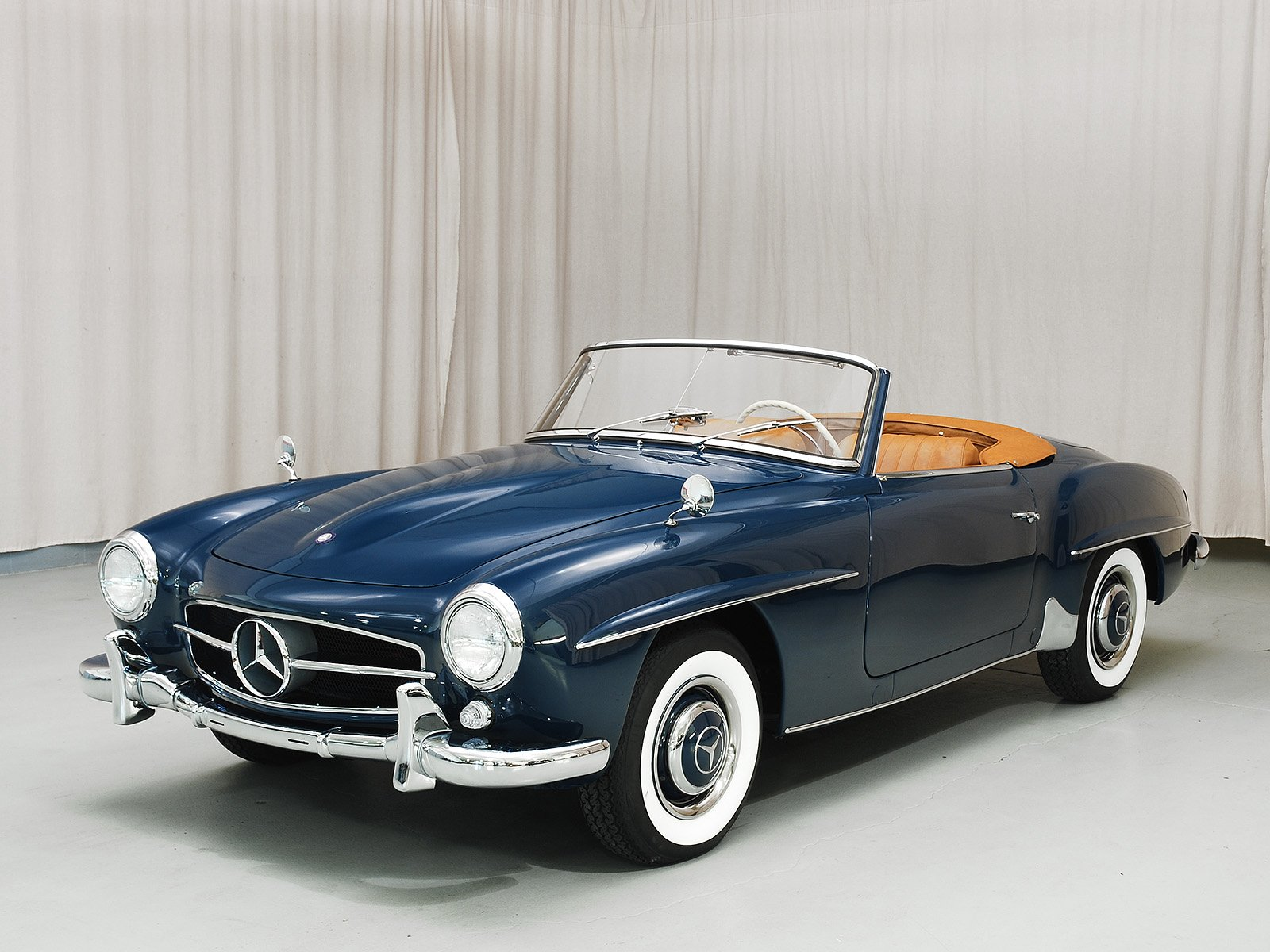 1956 mercedes benz 190sl convertible hyman ltd classic cars for Cars of mercedes benz