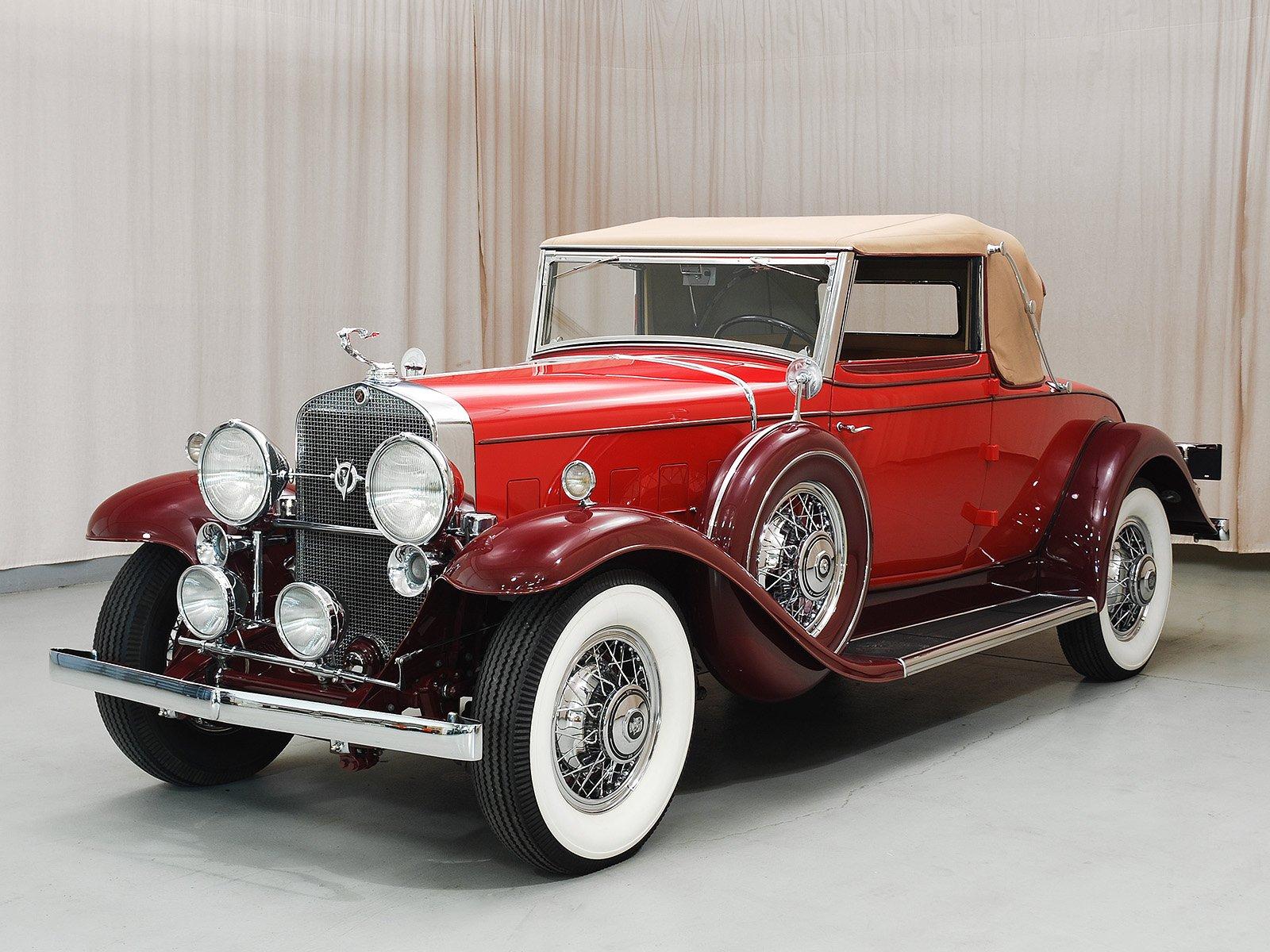 1931 Cadillac 355a Convertible Coupe Hyman Ltd