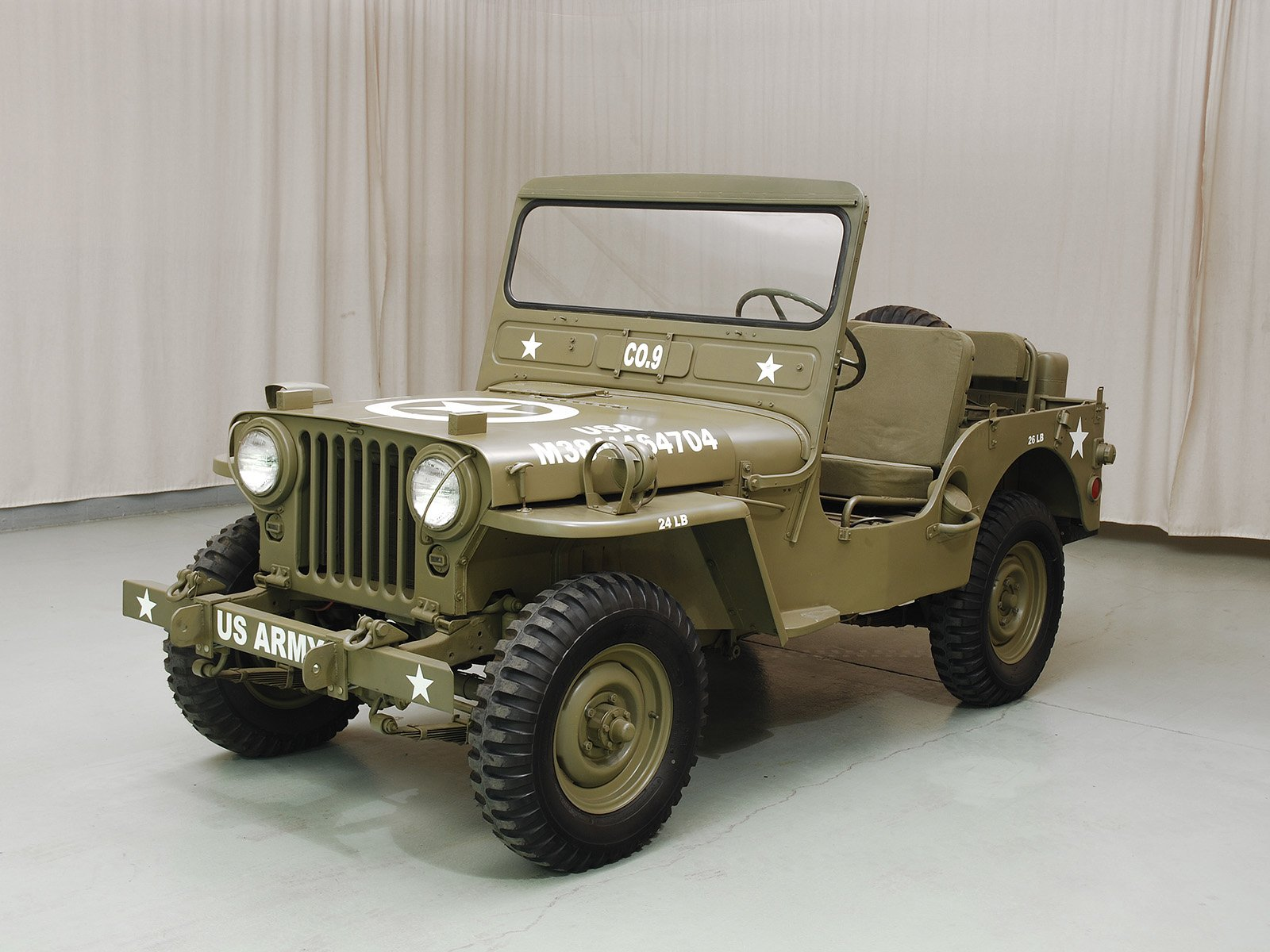 1950 Willys M38 Jeep Hyman Ltd Classic Cars