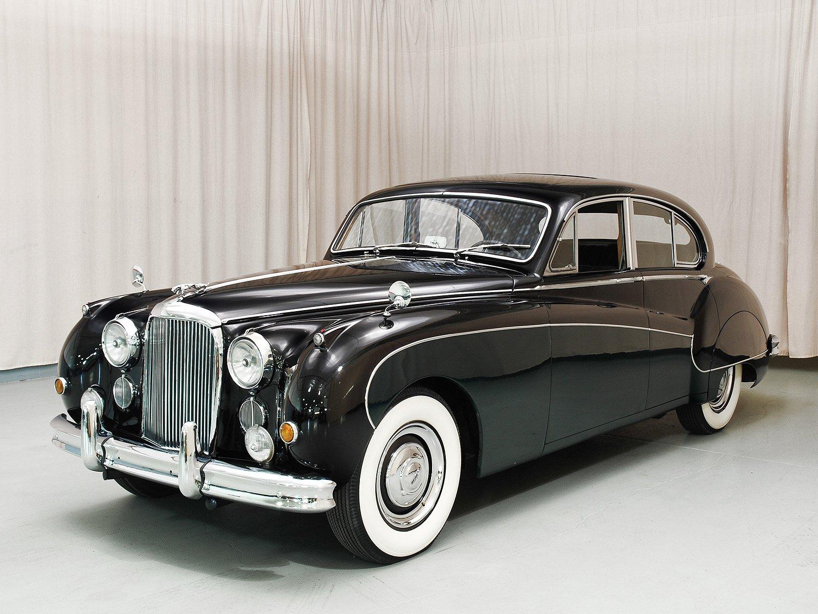 1957 Jaguar MK8 Four Door
