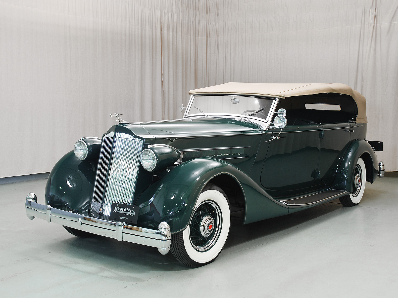 Buying And Selling Cars >> 1936 Packard Eight Phaeton