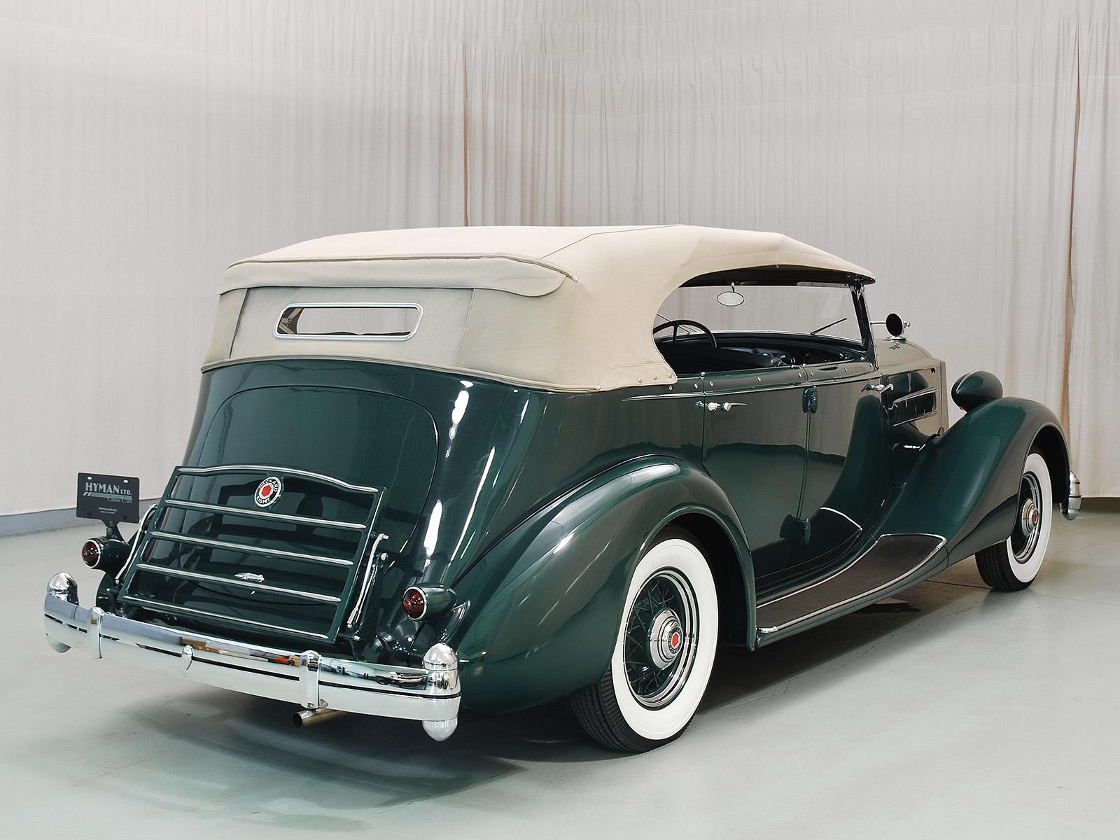 1936 Packard Eight Phaeton Hyman Ltd