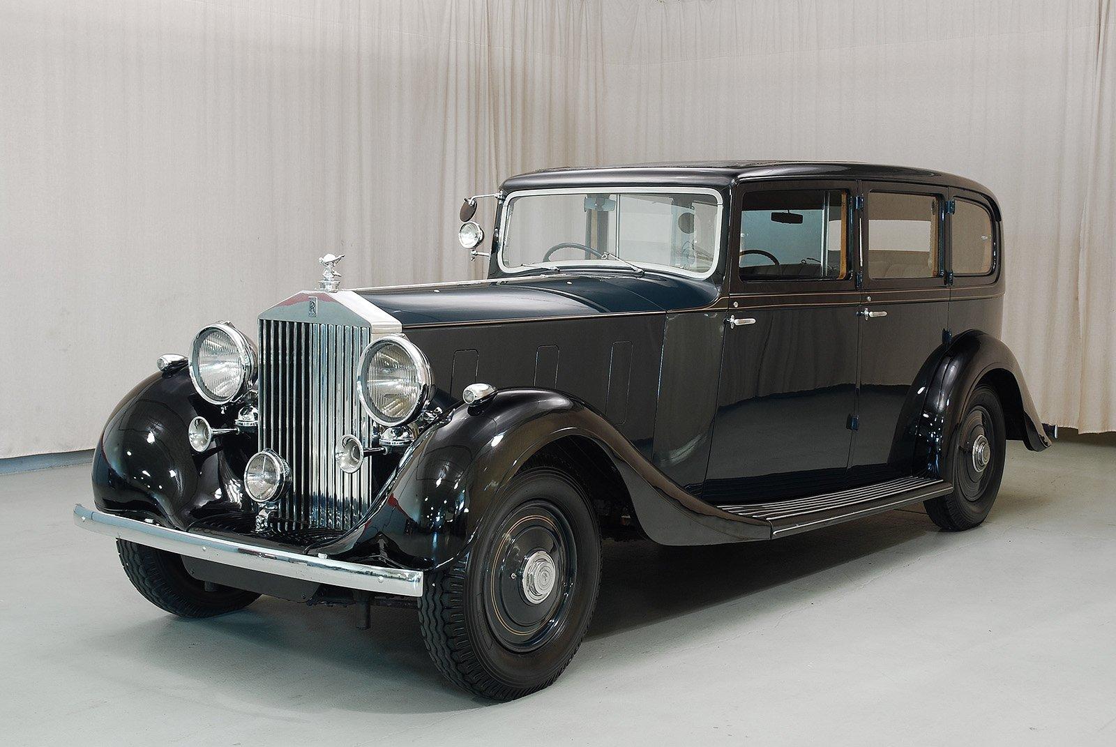 rolls royce 1936