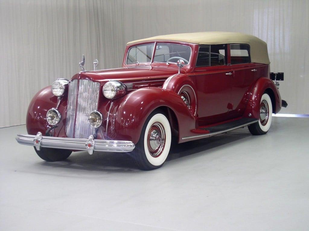 1938 Packard Berline Classic Car For Sale | Buy 1938 Packard Berline at Hyman LTD