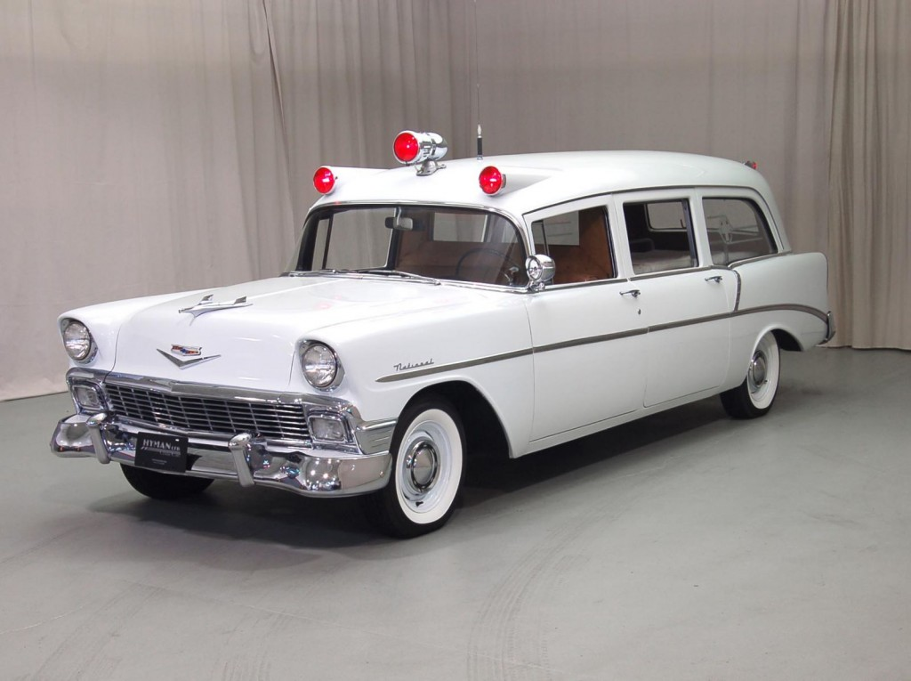 1956 Chevrolet Ambulance Classic Car For Sale | Buy 1956 Chevrolet Ambulance at Hyman LTD
