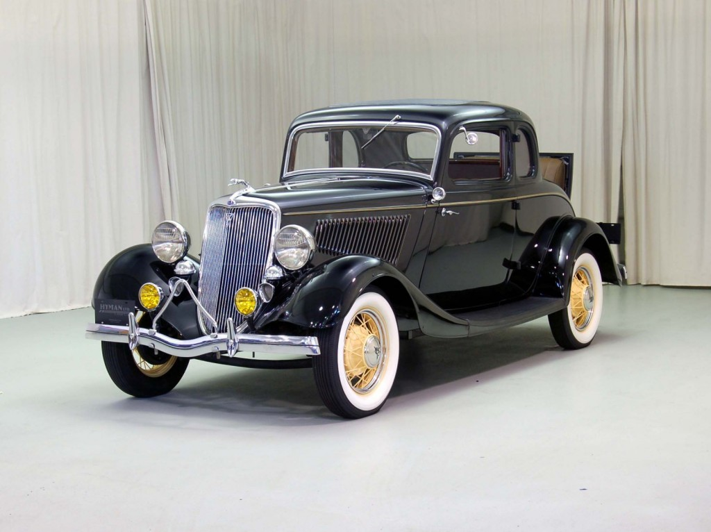 1934 Ford Coupe Classic Car For Sale | Buy 1934 Ford Coupe at Hyman LTD