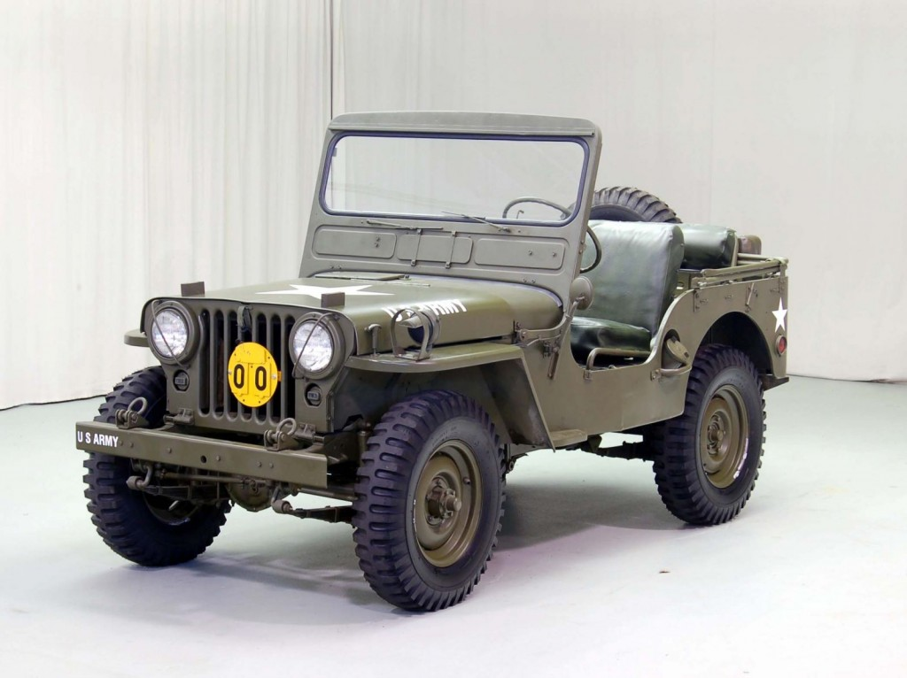 1952 Willys M38 Classic Car For Sale | Buy 1952 Willys M38 at Hyman LTD