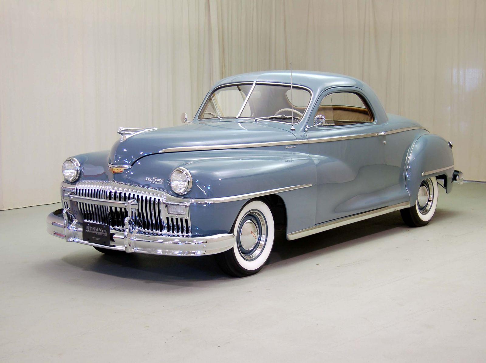 1948 DeSoto Deluxe Classic Car For Sale   Buy 1948 DeSoto Deluxe at Hyman LTD