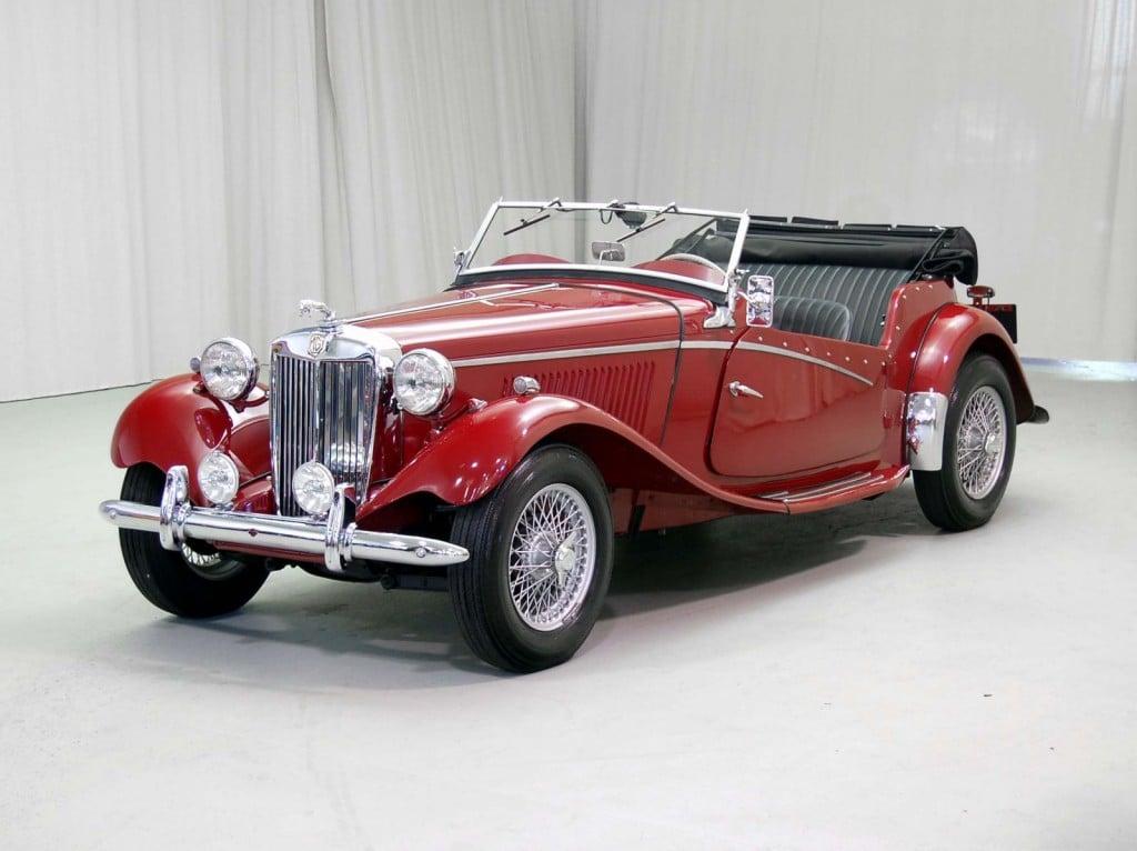 1953 MG TD Inskip Classic Car For Sale | Buy 1953 MG TD Inskip at Hyman LTD
