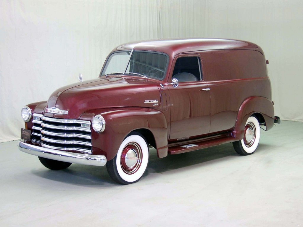 1950 Chevrolet Panel Truck Classic Car For Sale | Buy 1950 Chevrolet Panel Truck at Hyman LTD
