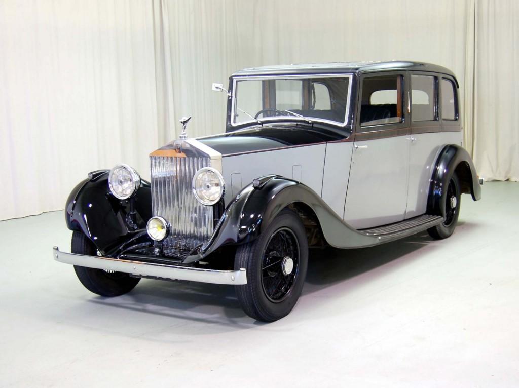 1936 Rolls Royce 20/25 Classic Car For Sale | Buy 1936 Rolls Royce 20/25 at Hyman LTD