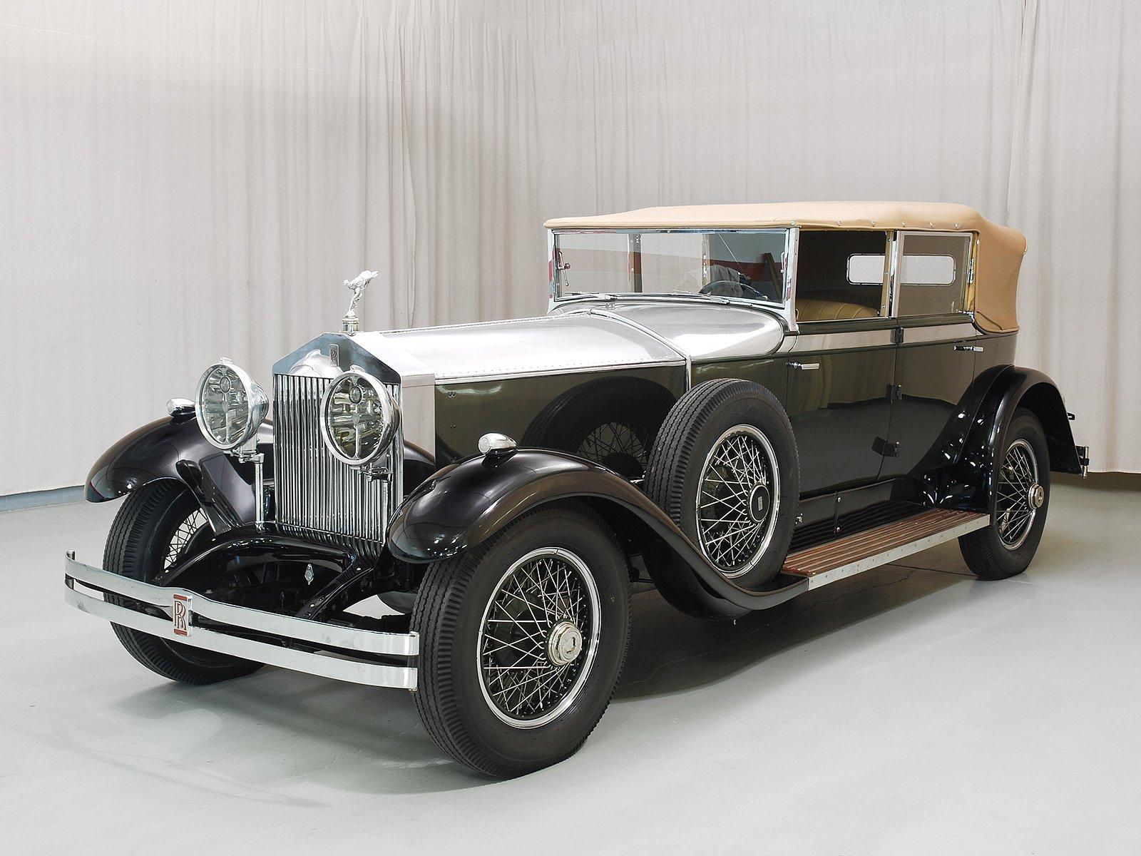 1929 RollsRoyce Phantom I Newmarket Convertible Sedan