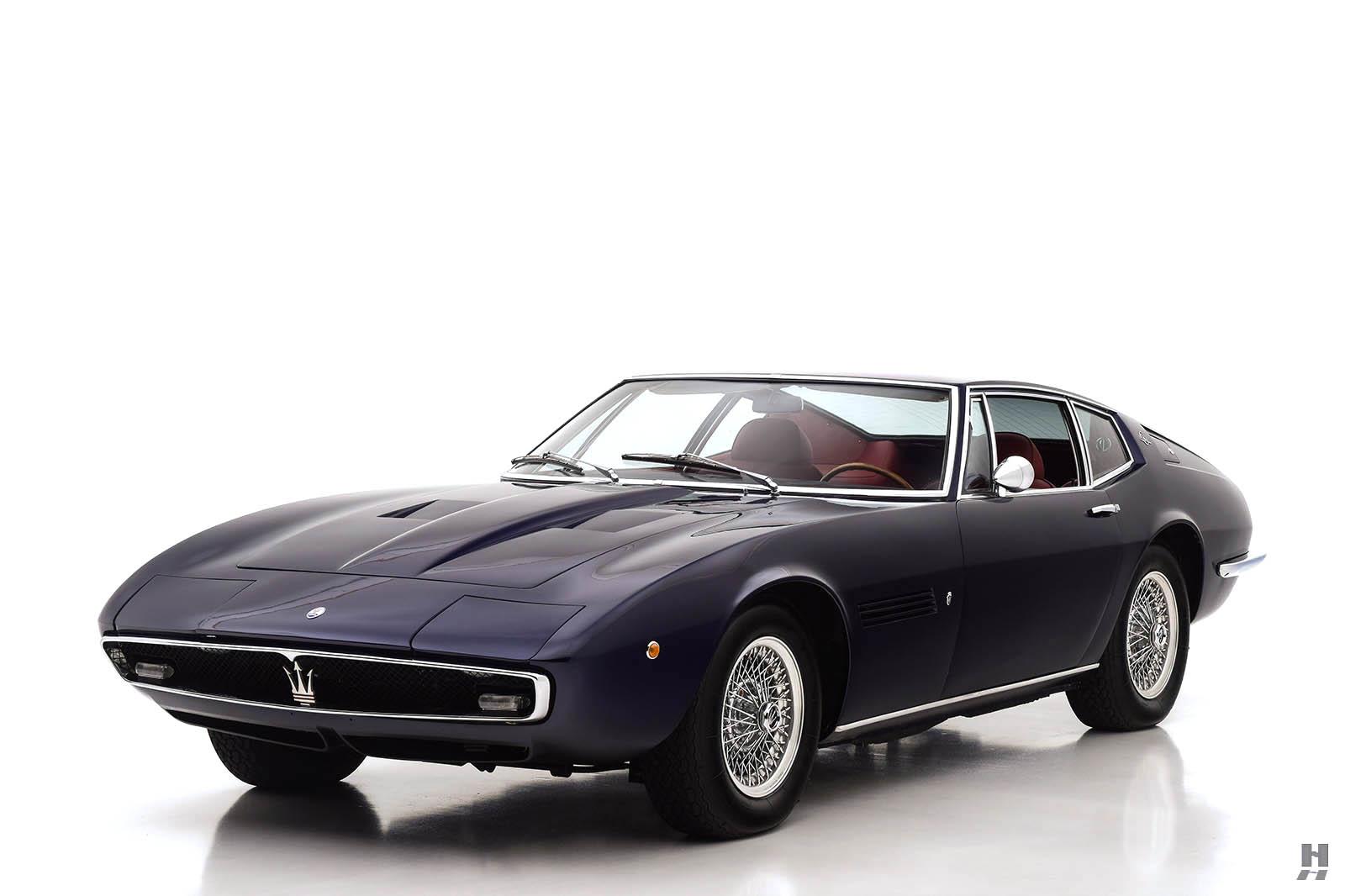 1970 Maserati Ghibli 4.9 SS Coupe | Hyman LTD