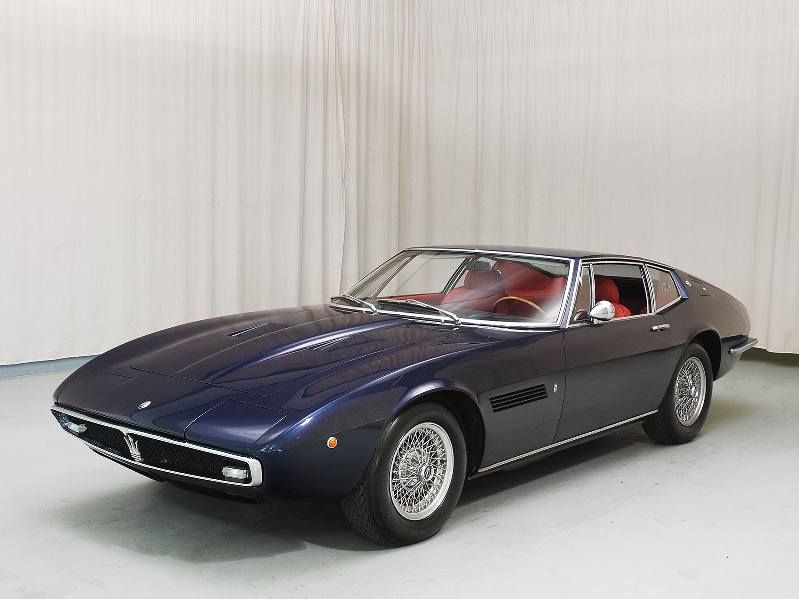 1970 maserati ghibli 4 9 ss coupe hyman ltd classic cars. Black Bedroom Furniture Sets. Home Design Ideas