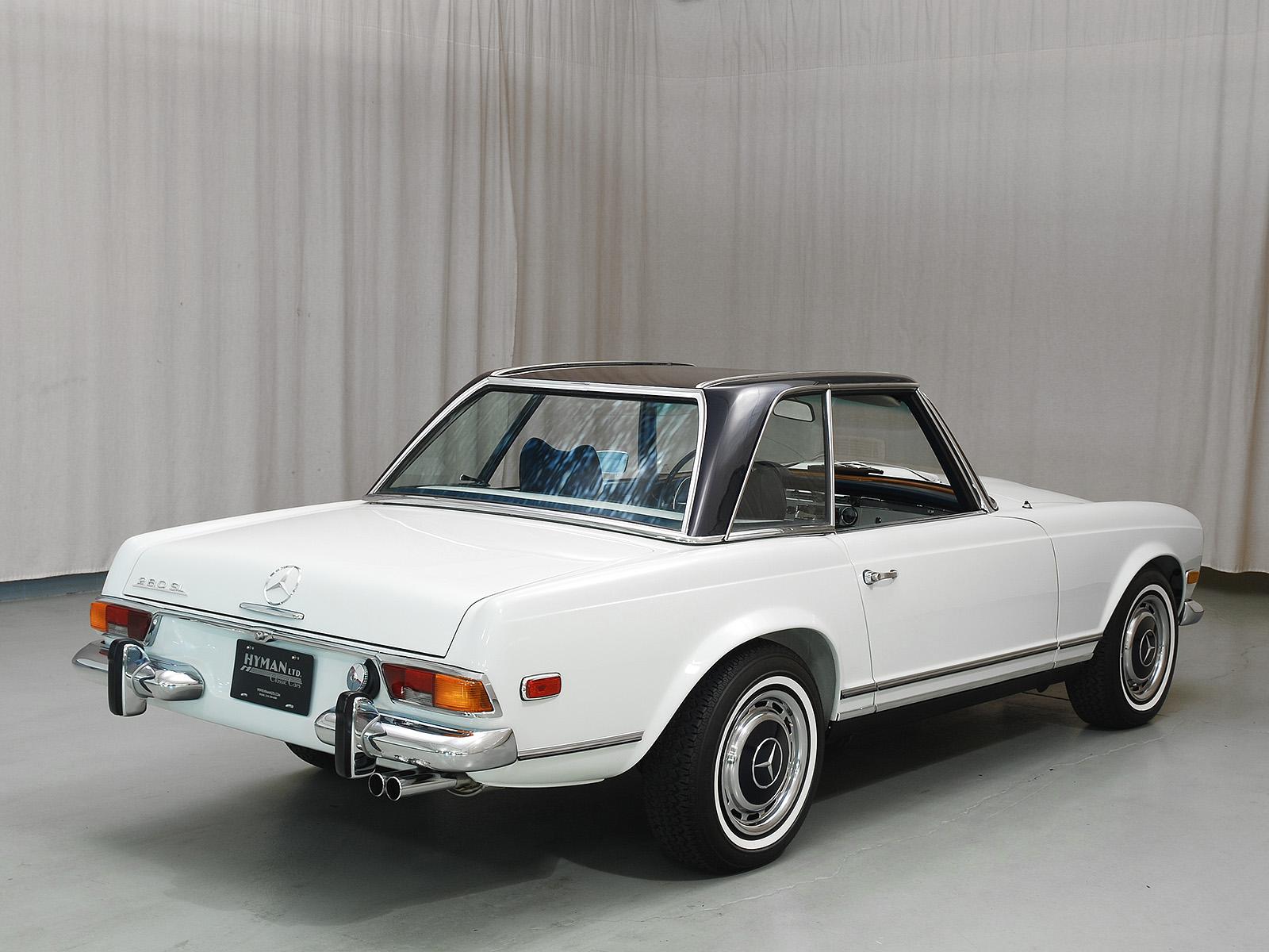 1970 mercedes benz 280sl convertible hyman ltd classic cars for 1970 mercedes benz