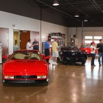 Local Ferrari Club Visits Hyman LTD | Buy Classic Ferrari at Hyman LTD