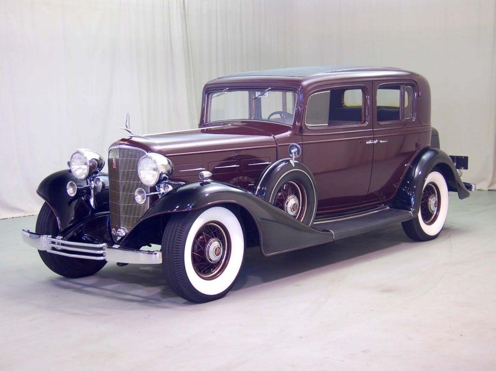 1933 Cadillac 12 Sedan Classic Car For Sale | Buy 1933 Cadillac 12 Sedan at Hyman LTD