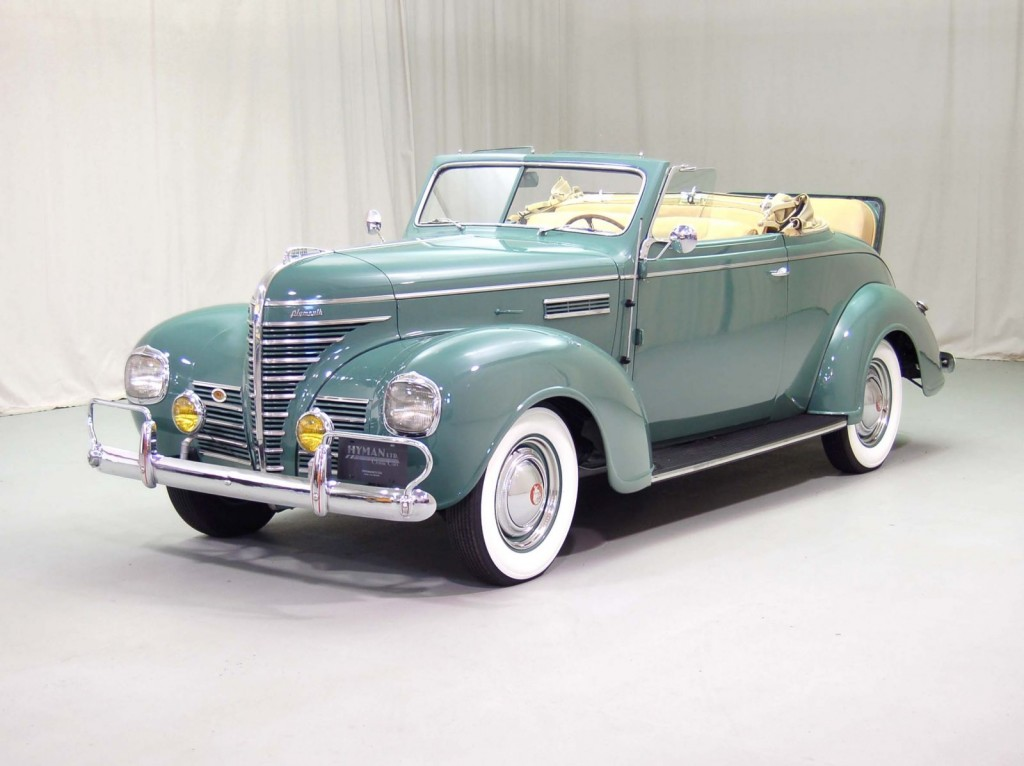 1939 Plymouth Deluxe Convertible Classic Car For Sale | Buy 1939 Plymouth Deluxe Convertible at Hyman LTD