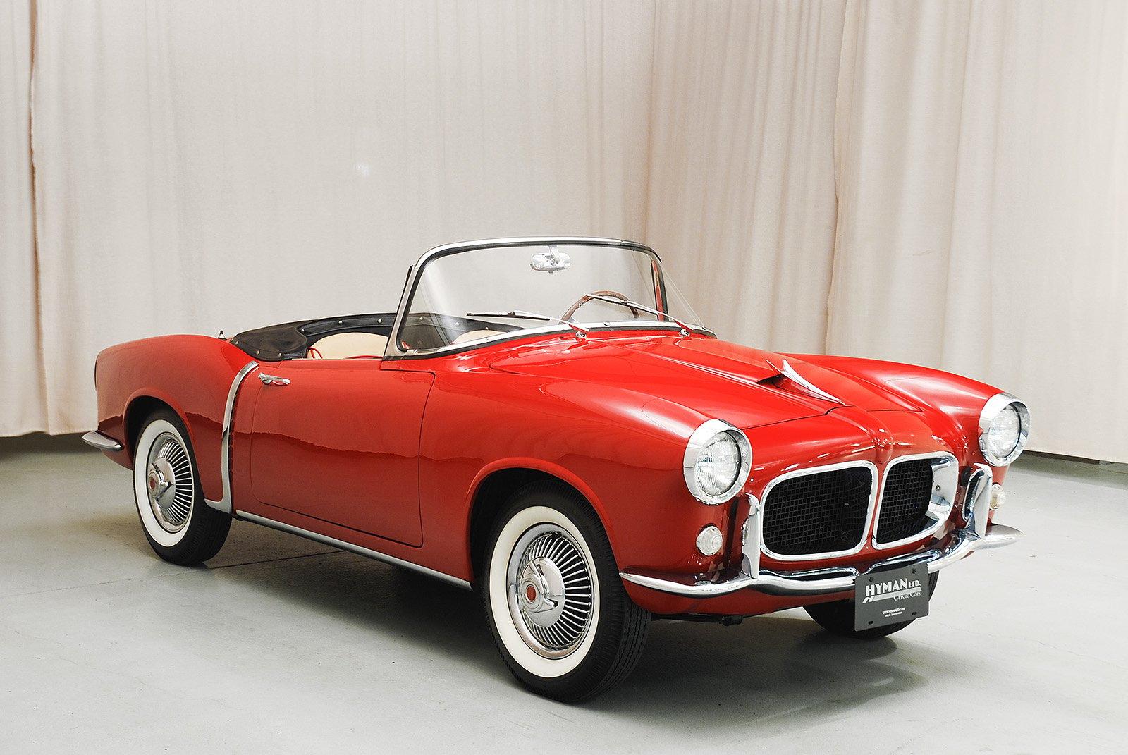 Affordable Auto Sales >> 1958 Fiat 1100 TV Convertible   Hyman Ltd. Classic Cars