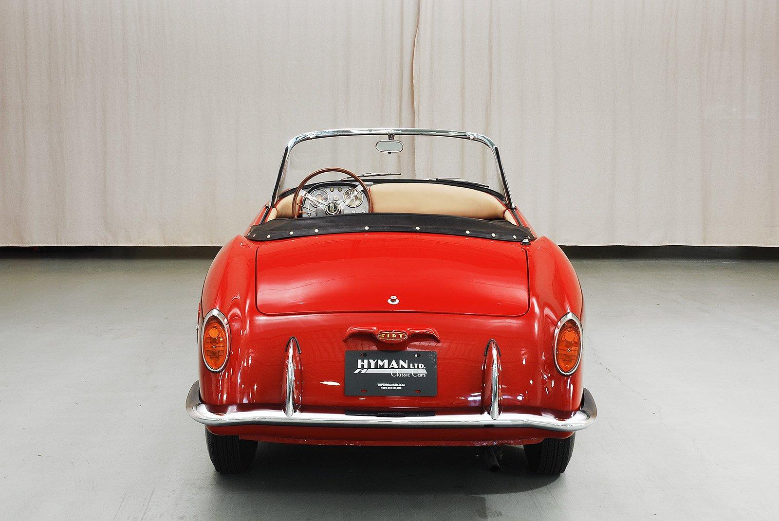 Mass Auto Sales >> 1958 Fiat 1100 TV Convertible | Hyman Ltd.