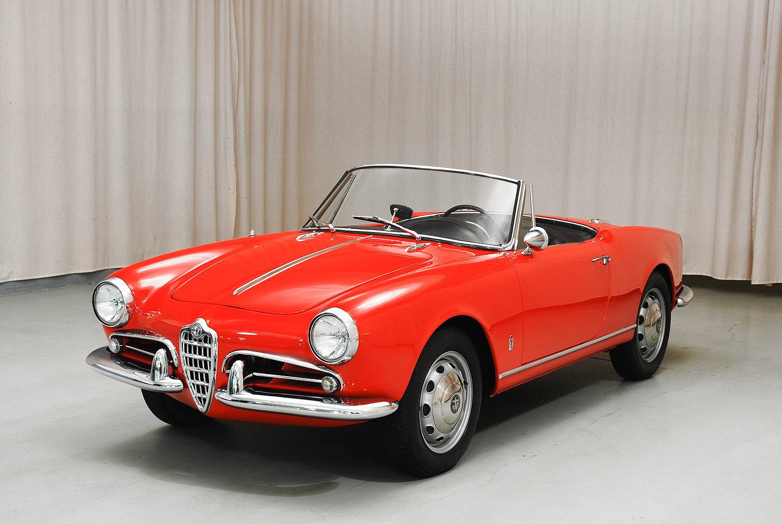 1961 alfa romeo giulietta spider | hyman ltd. classic cars