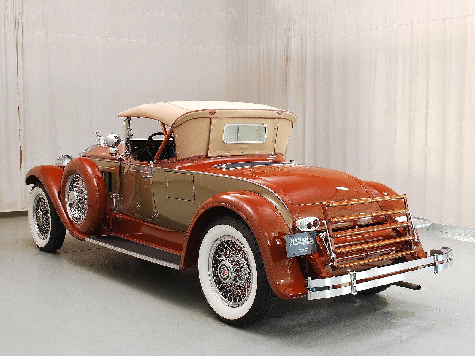 How To Measure Wheel Base >> 1929 Packard 640 Roadster | Hyman Ltd.