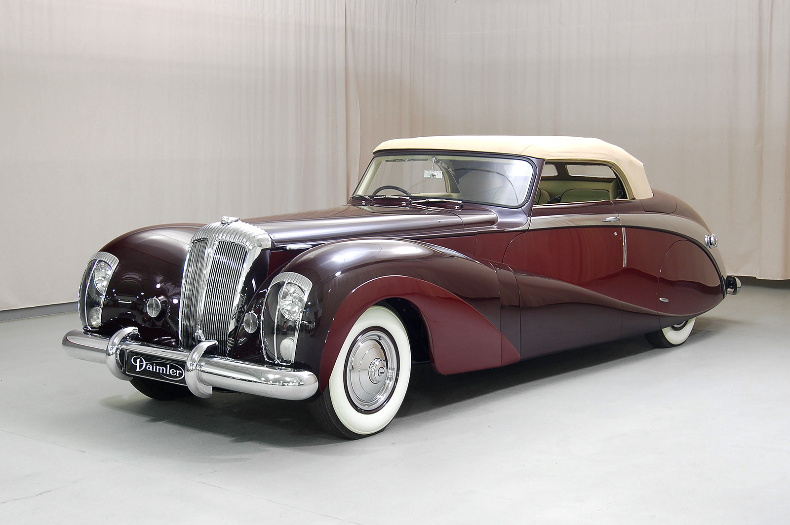 1948 daimler de36 green goddess drophead coupe