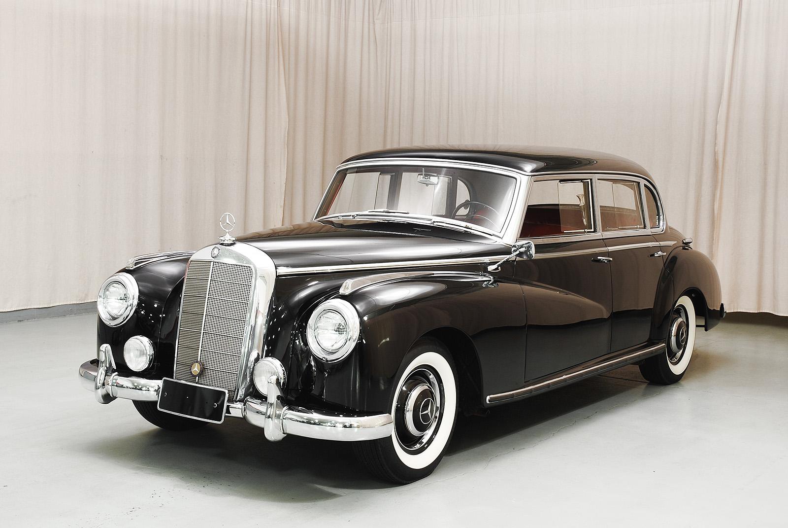 1952 mercedes benz 300 sedan hyman ltd classic cars for 1952 mercedes benz