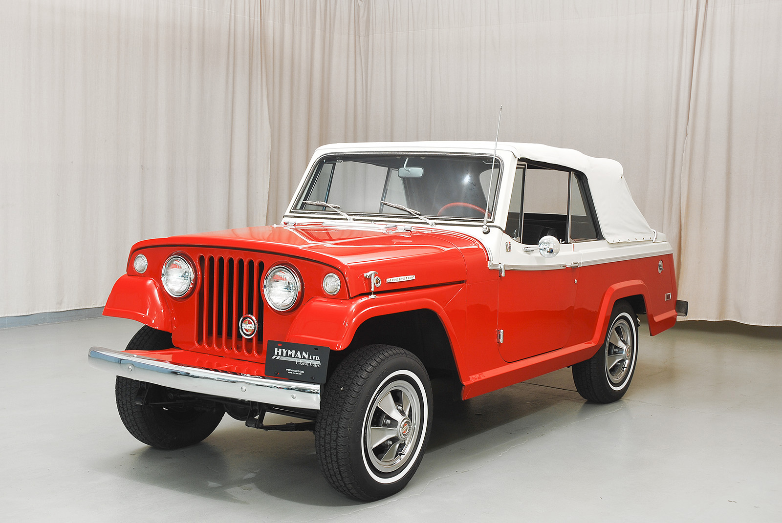 1968 jeep jeepster convertible hyman ltd classic cars. Black Bedroom Furniture Sets. Home Design Ideas