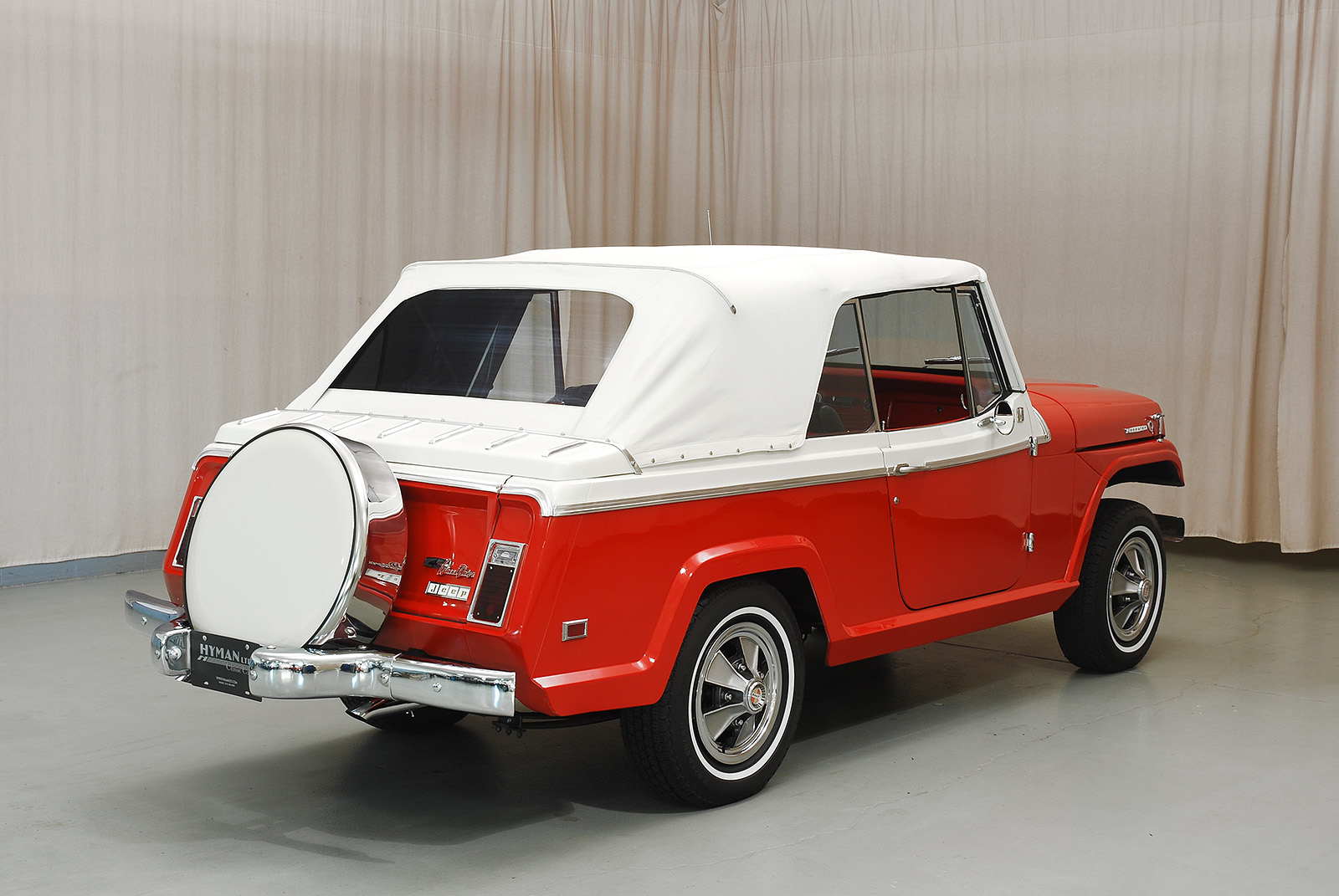 Cost To Paint A Car >> 1968 Jeep Jeepster Convertible | Hyman Ltd. Classic Cars