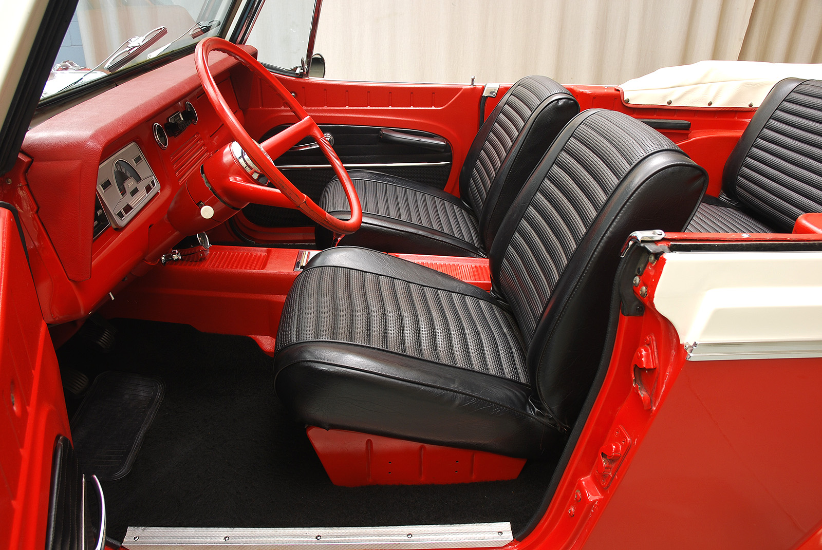 Cost To Paint A Car >> 1968 Jeep Jeepster Convertible | Hyman Ltd.