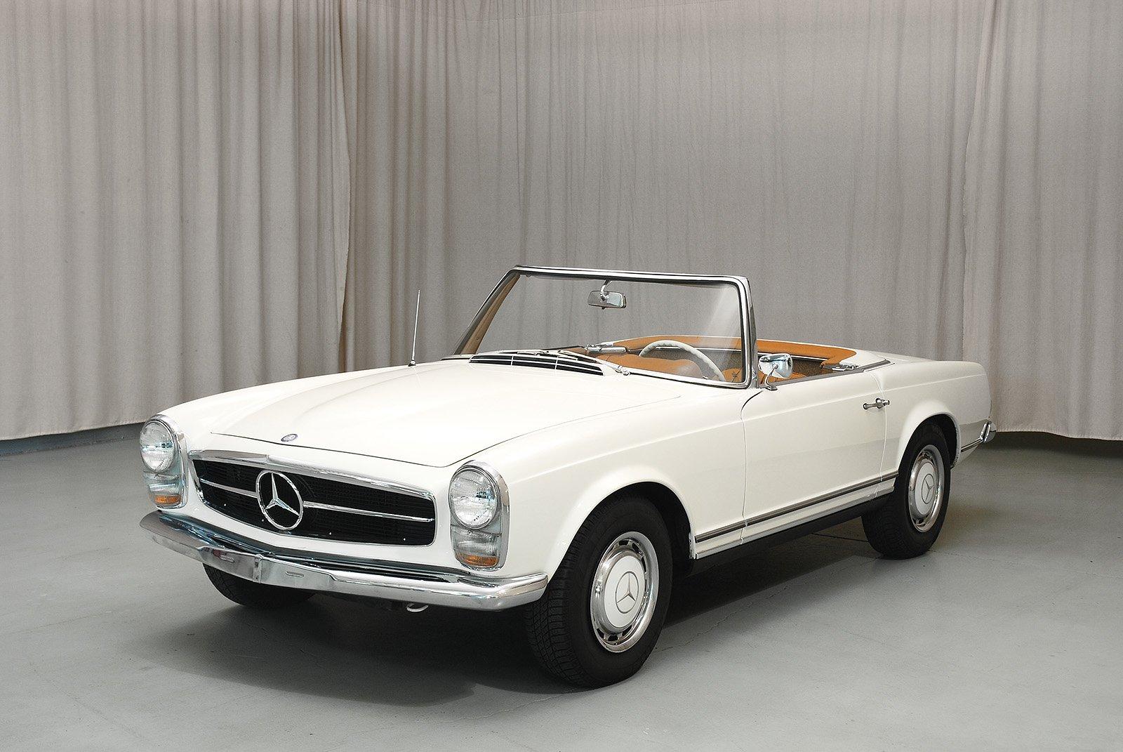 1966 Mercedes Benz 230sl Convertible Hyman Ltd