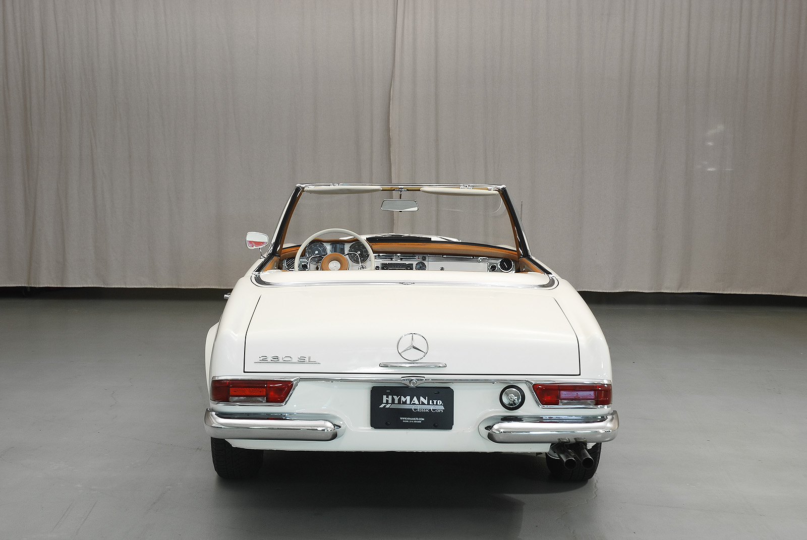 1966 mercedes benz 230sl convertible hyman ltd classic cars for 1966 mercedes benz 230sl