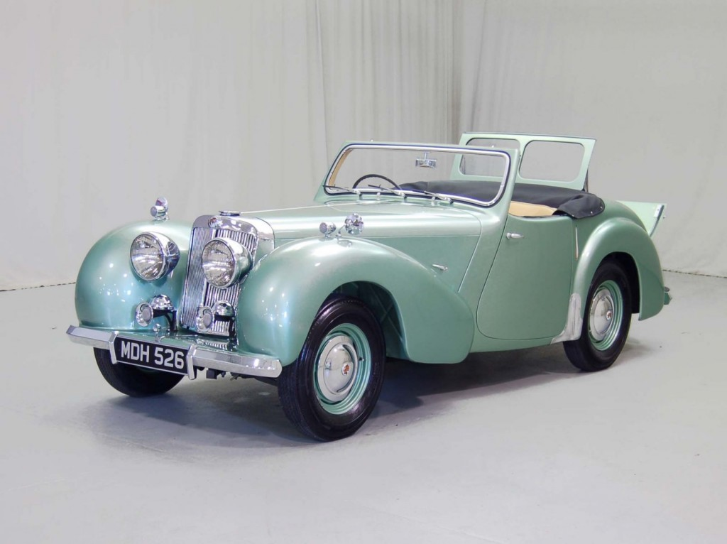 1949 Triumph 2000 Roadster Classic Car For Sale | Buy 1949 Triumph 2000 Roadster at Hyman LTD