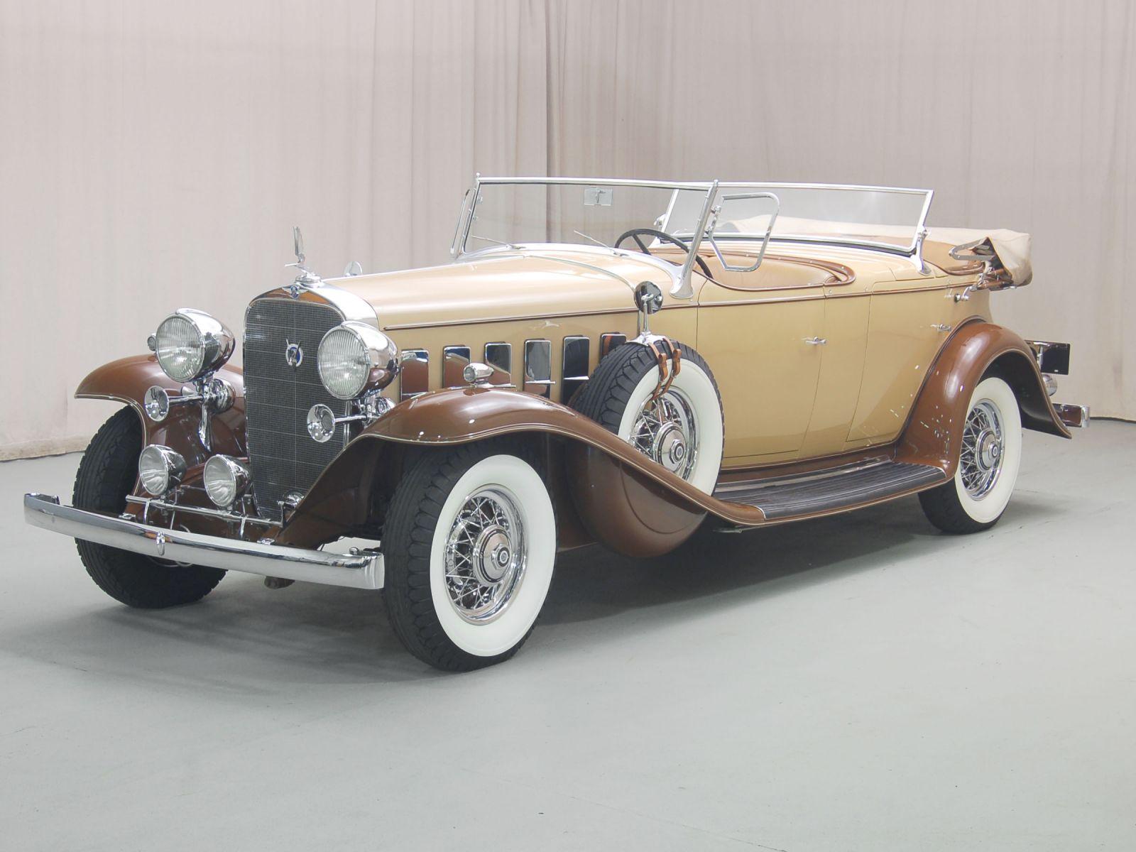 1932 cadillac v12 dual cowl sport phaeton hyman ltd. Black Bedroom Furniture Sets. Home Design Ideas