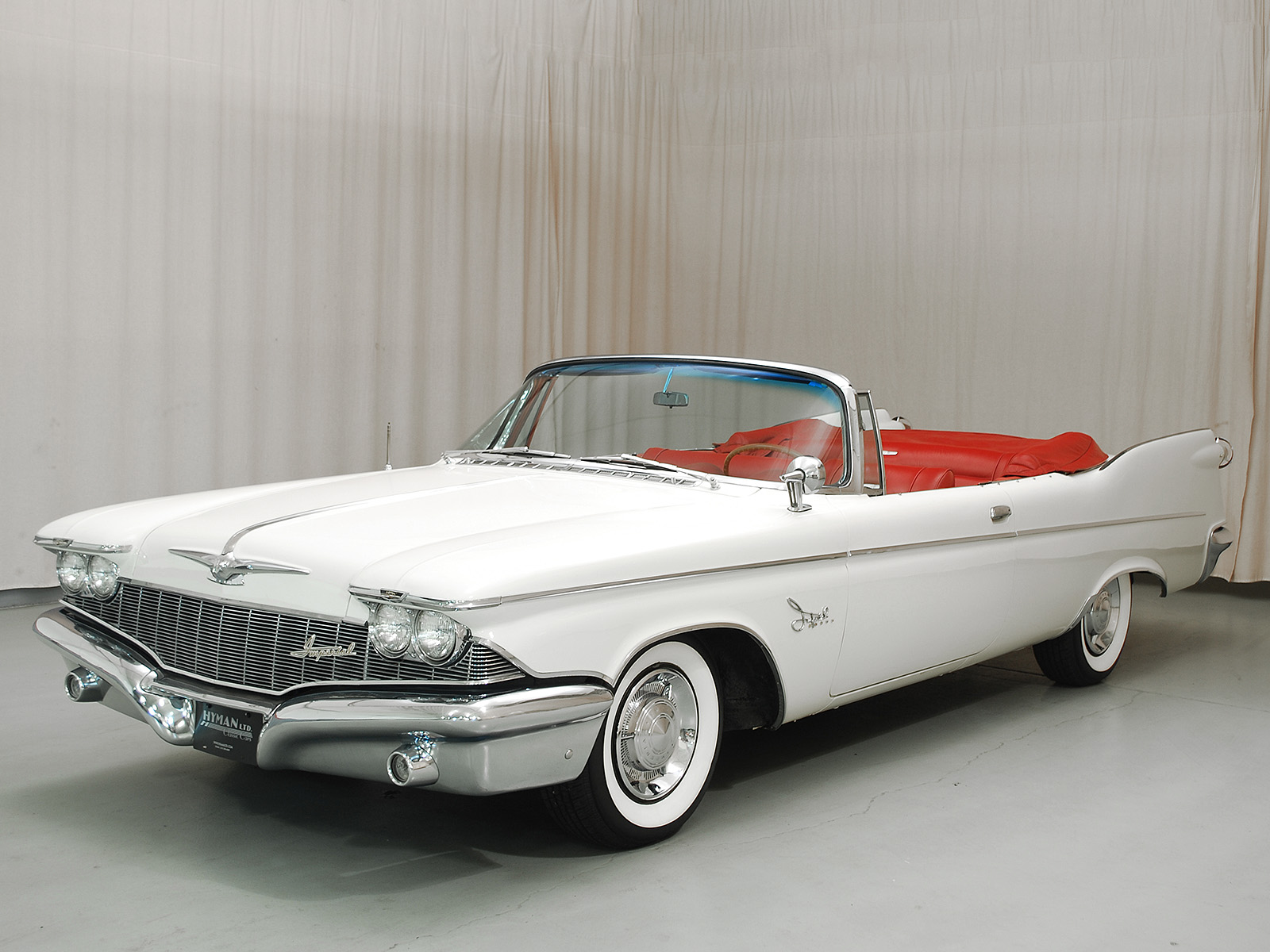 1960 Chrysler Imperial Crown Convertible Hyman Ltd