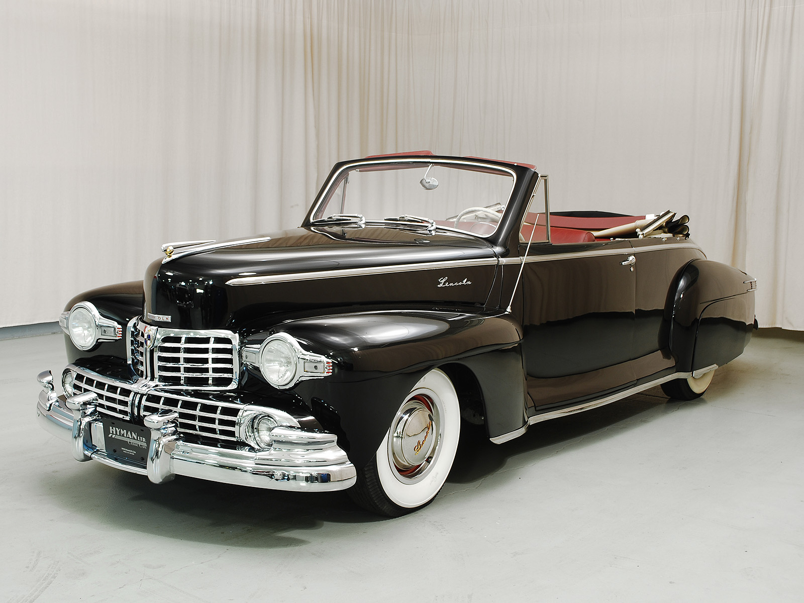 1948 Lincoln Continental Convertible Cabriolet Hyman Ltd