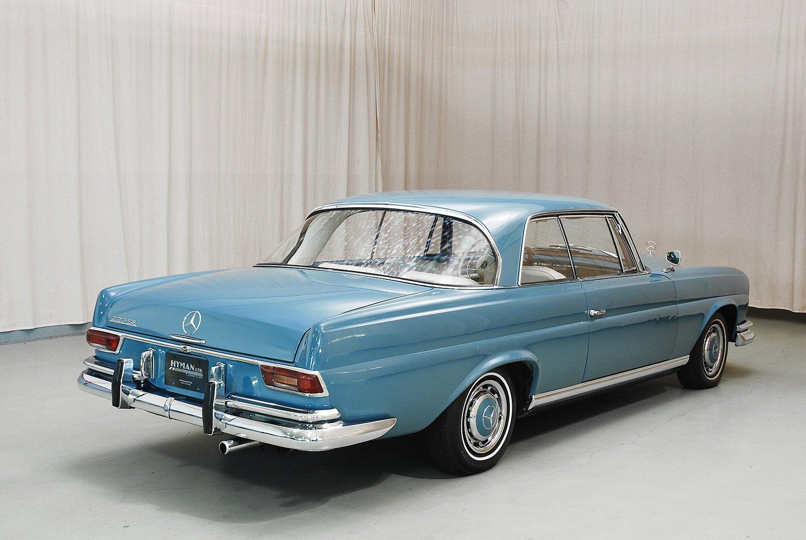 1965 mercedes benz 220se coupe hyman ltd classic cars for 1965 mercedes benz