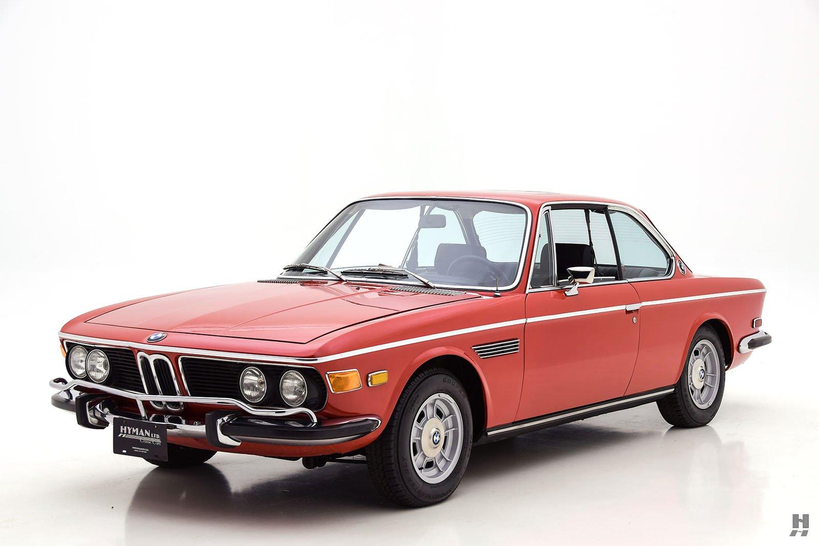 1972 bmw 3 0cs coupe for sale buy classic cars hyman ltd. Black Bedroom Furniture Sets. Home Design Ideas